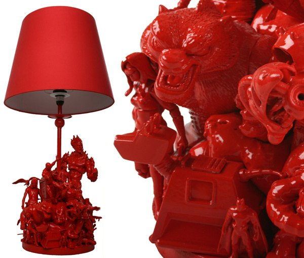 Turn Kids Toys Into Awesome Table Lamp