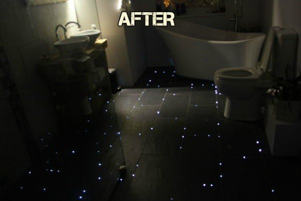 How to Build a Nighty Star Floor