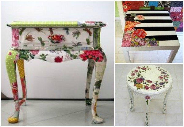 How To DIY Decoupaged Furniture Tutorial ...