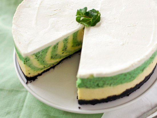 How to diy mint chocolate cheesecake recipes fab art diy how to make a mint cheesecake via cooking channel tv forumfinder Image collections
