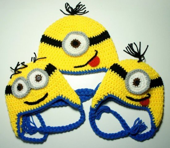 Free Crochet Hat Patterns For Minions : DIY Crochet Minion Projects (Free Pattern)