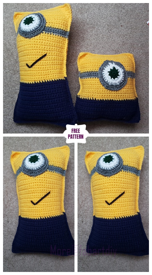DIY Crochet Tall Minion Ragdoll Free Crochet Pattern