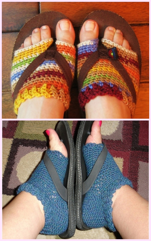 Simple Hacks to Make Shoes More Comfortable - Make Your Own Flip Flop Socks