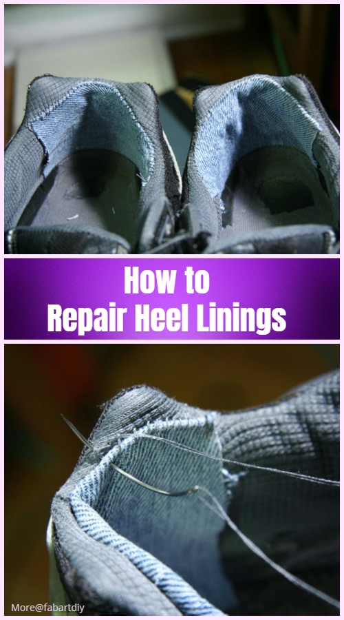Simple Hacks to Make Shoes More Comfortable - Repair Heel Linings