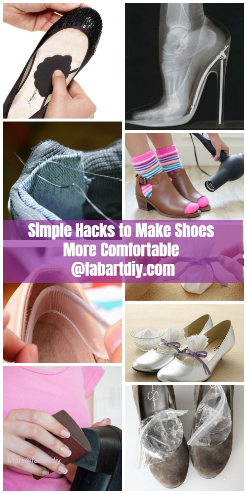 Simple Hacks to Make Shoes More Comfortable - Ladies Must Read