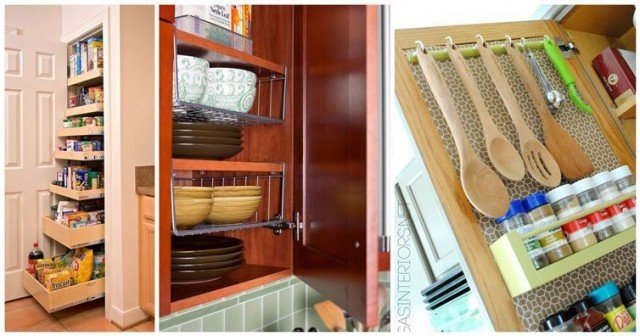 Space saving hacks to maximize your small kitchen for Small kitchen hacks