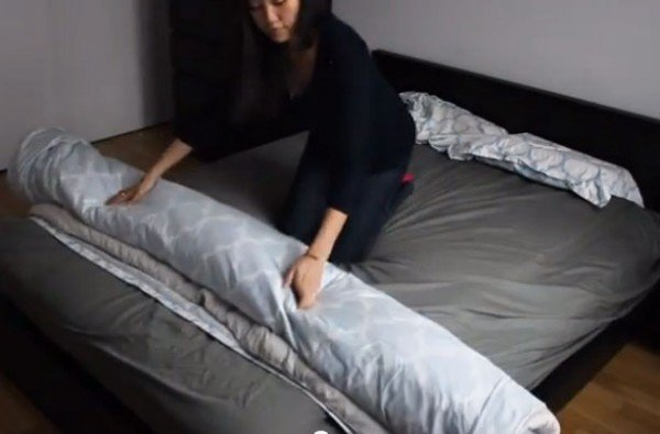 How To Put On Duvet Cover Easily
