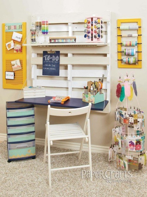 Creative DIY Pallet Storage Ideas and Projects22