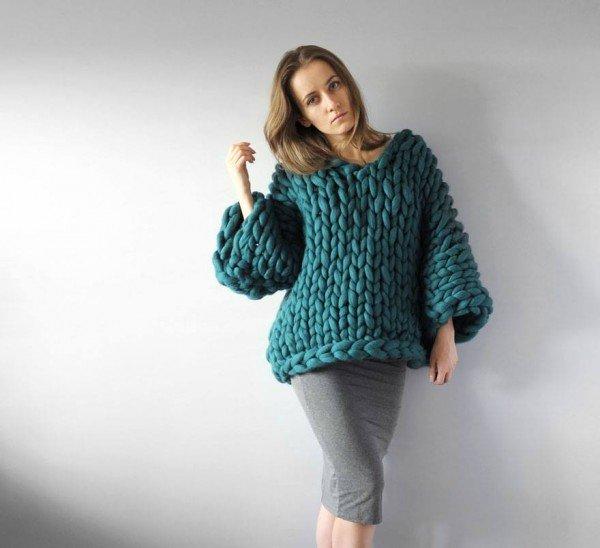 DIY Super Chunky Knitwear By Anna Mo