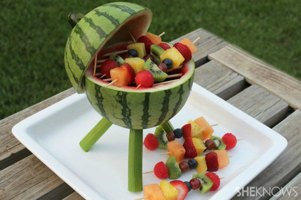 How to Serve Watermelon - watermelon grill tutorial