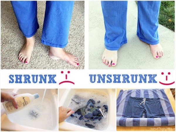 How to Unshrink Your Clothes (Video)