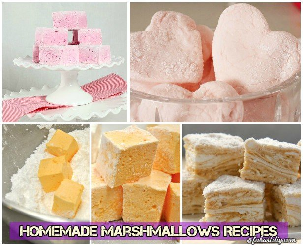 DIY Make Homemade Marshmallows Recipes