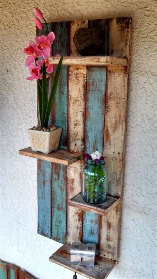20 creative diy pallet storage ideas and projects www for Diy pallet projects with instructions