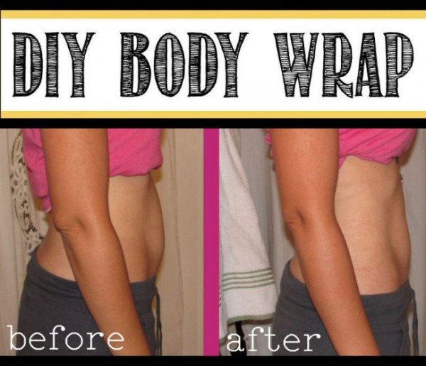 DIY Body Wrap – Lose up to 1 inch over night!