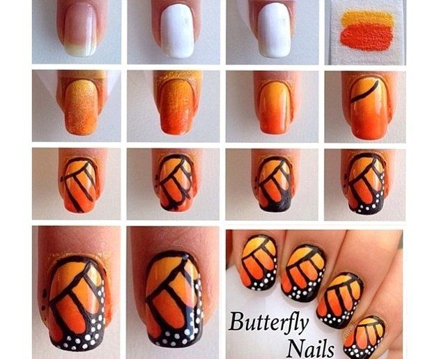 Diy Butterfly Nail Art Ideas And Tutorials