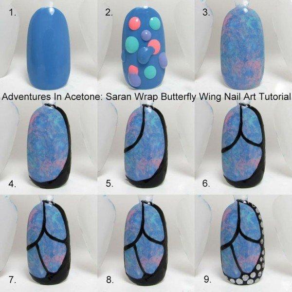 DIY Butterfly Nail Art Tutorials