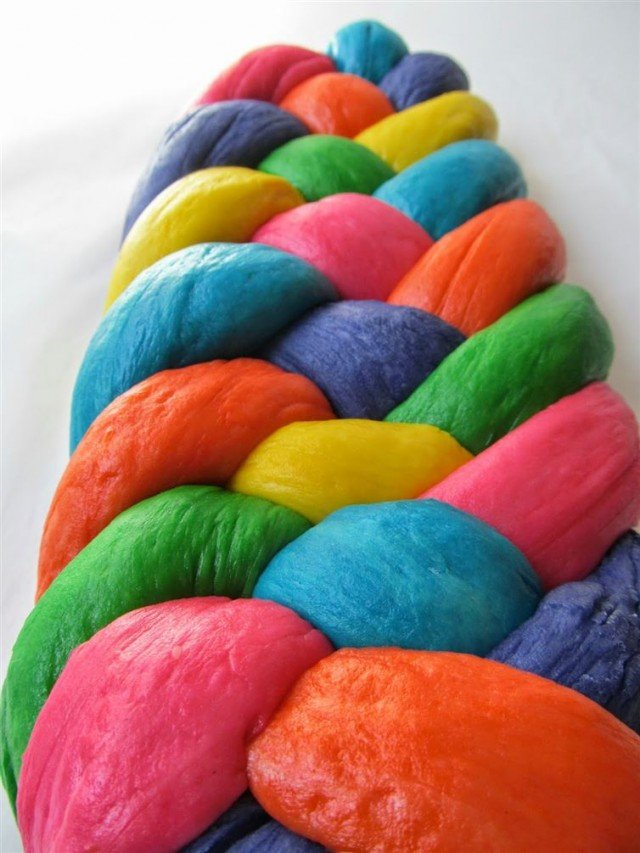 DIY How to Make Jellybean Bread Braid3