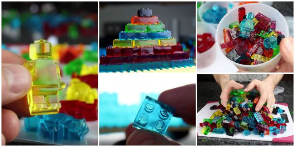 DIY How to Make Lego Gummy Recipe