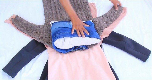Do you know this packing trick - How to Pack a Carry On Like A Boss