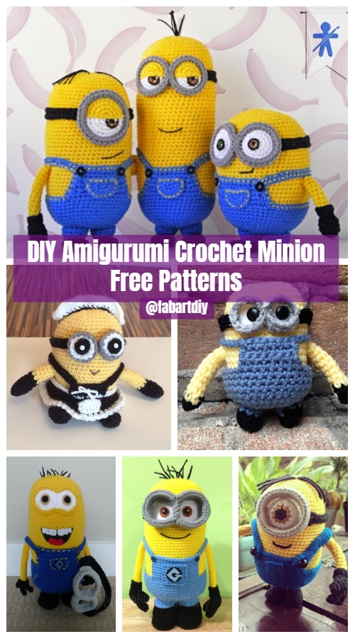 DIY Amigurumi Crochet Minion Free Patterns