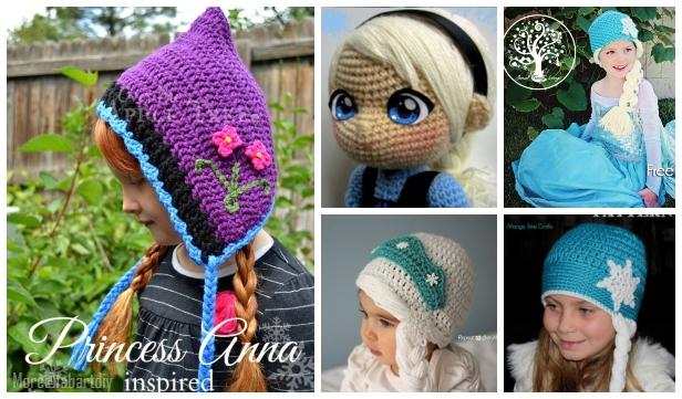 Diy Crochet Disney Frozen Free Crochet Patterns
