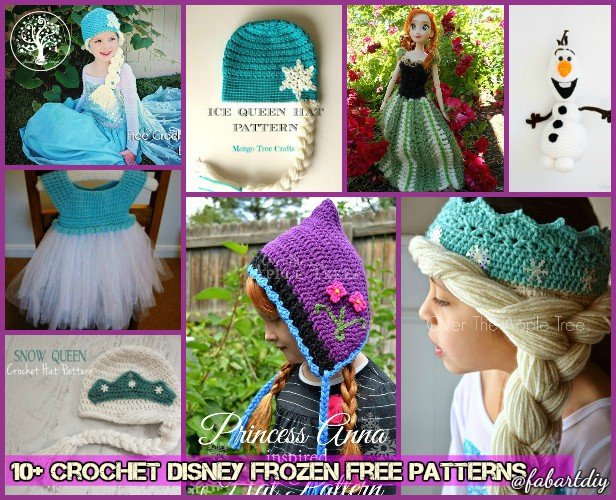 Free Amigurumi Disney Patterns : Crochet disney frozen free patterns