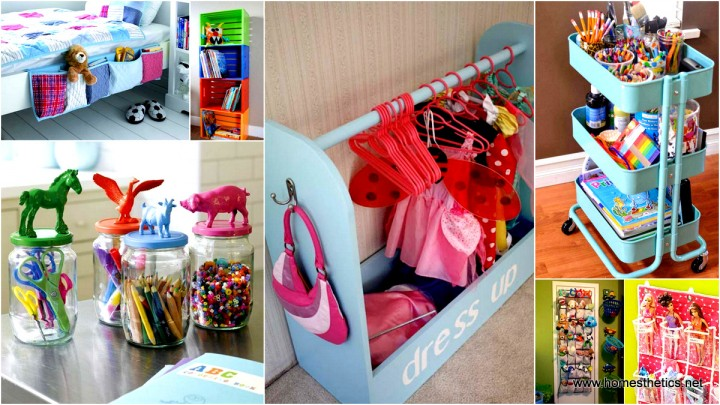 Smart tips and hacks to organize kid 39 s room beautifully for Astuce deco chambre