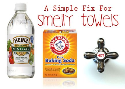A Simple Solution For Better Smelling, More Absorbent Towels