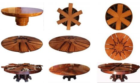 Design of Expandable Round Dining Table