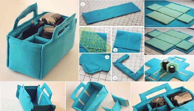 DIY how to sew Camera Case