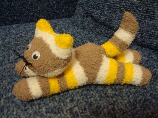 DIY Sock Kittens - free pattern