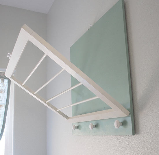 IY Wall Mounted Laundry Drying Rack
