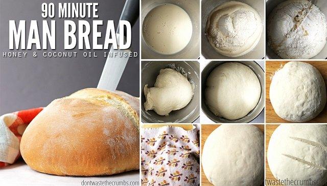 Easy 90 Minute Bread Recipe