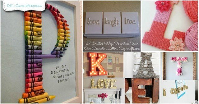 Fabulous Home Decorating With Letters And Words That You Can DIY