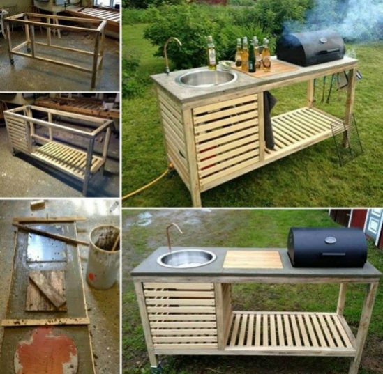 How to Make All In One BBQ Unit