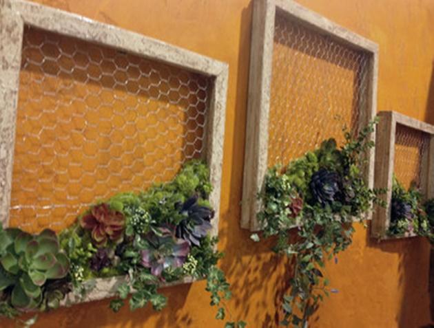 DIY Succulent Garden Wall Decor Tutorial