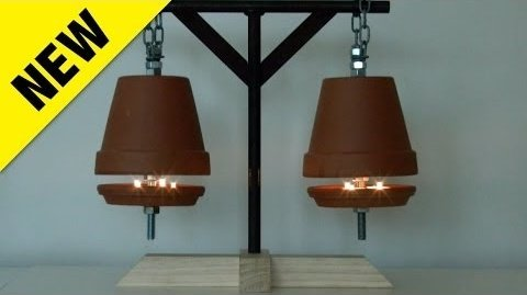 How to Make A Candle Flower Pot Heater