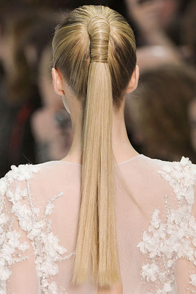 15 Ways to Rock a Pony Tail on Your Wedding Day