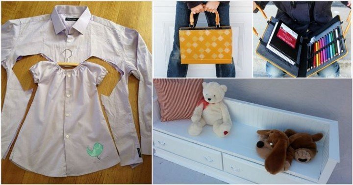 20 Adorable Ways You Can Upcycle Household Items For Your Kids