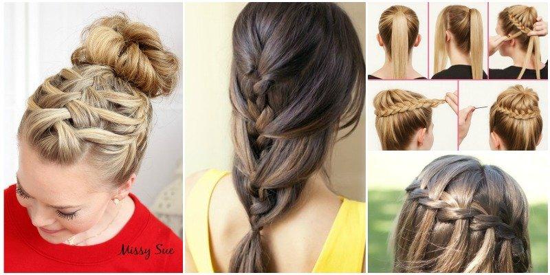 Brilliant 20 Beautiful Braid Hairstyle Diy Tutorials You Can Make Short Hairstyles Gunalazisus