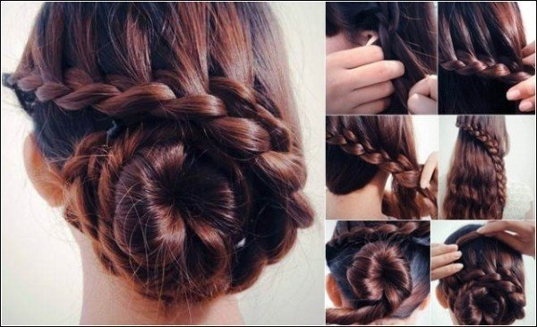 Simple but stylish hairdos
