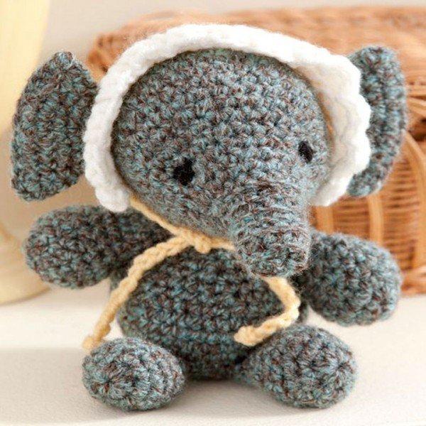 DIY Baby Elephant Crochet Amigurumi Free Patterns