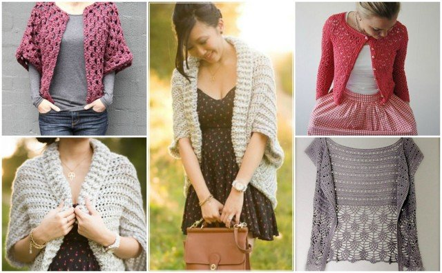 16 Diy Crochet Cardigan Sweater Coat Free Patterns