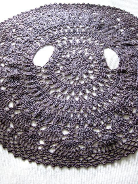 Crochet Round cardigan/circular jacket Free Crochet Pattern