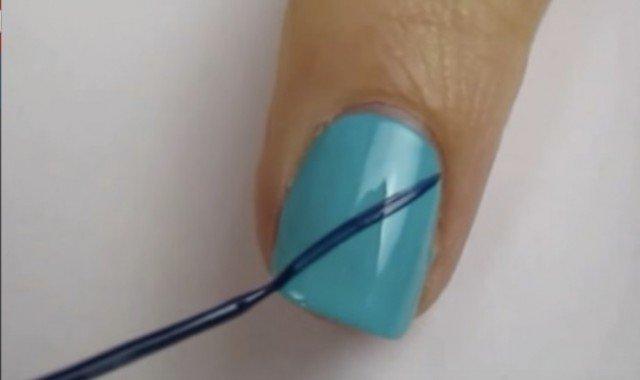 DIY Cute Argyle Nail Art Manicure - video