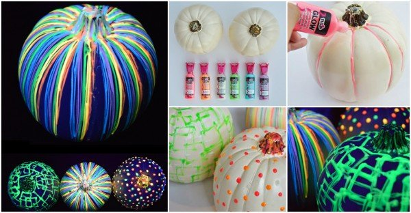 DIY Glow In The Dark Pumpkin Tutorial - video