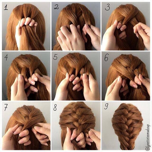 Easy to do hairstyles for medium length hair at home