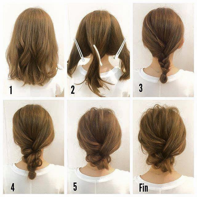 Miraculous Fashionable Braid Hairstyle For Shoulder Length Hair Hairstyle Inspiration Daily Dogsangcom
