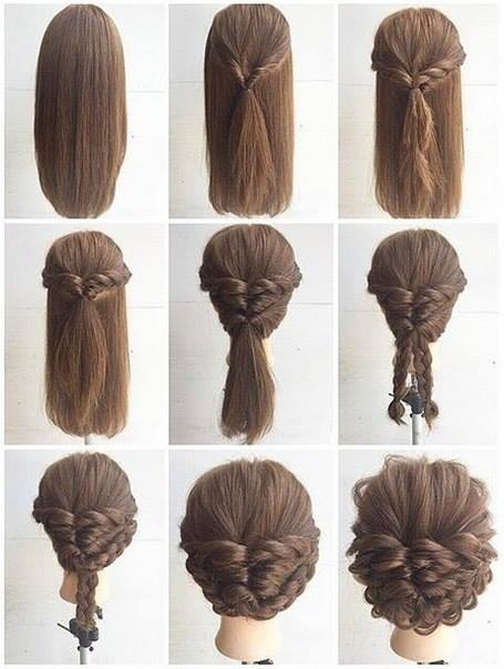 Hairstyles For Medium Length Hair And How To Do It : Fashionable braid hairstyle for shoulder length hair