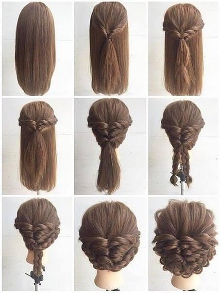 Magnificent Fashionable Braid Hairstyle For Shoulder Length Hair Short Hairstyles Gunalazisus